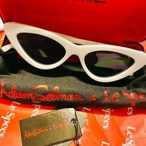 Le specs Adam Selman The last Lolita White Cat Eye